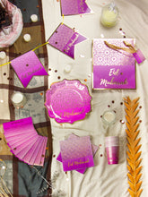 Load image into Gallery viewer, Eid Banner - Purple and Gold - Anafiya Gifts