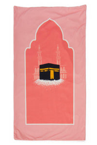 Pink Kaba Prayer Mat - Anafiya Gifts