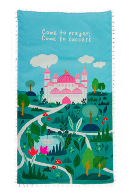 Pink Mosque Prayer Mat - Anafiya Gifts