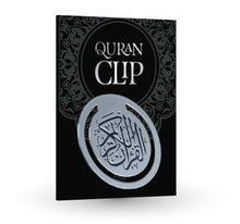 Load image into Gallery viewer, Quran Clip - Silver - Anafiya Gifts