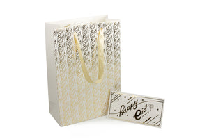 Gold Foil Happy Eid Gift Bag