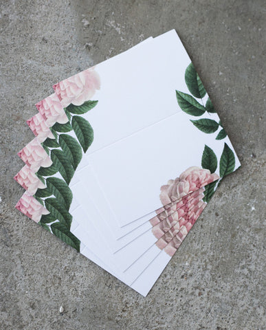 peony place cards