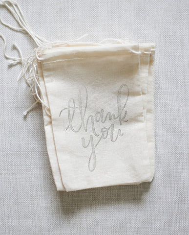 thank you favor bags