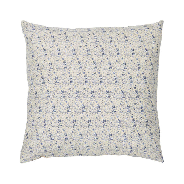 Small Blue Flower Cushion Cover