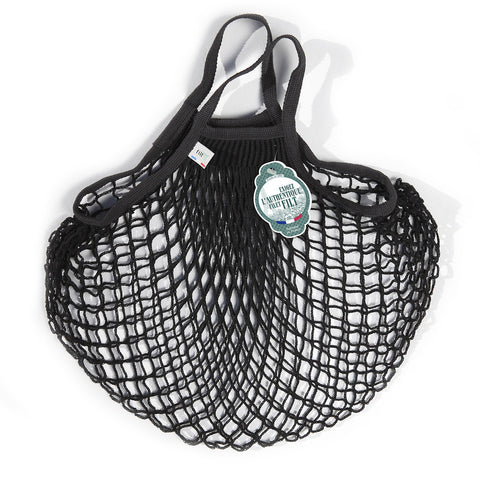 Filt French Net Market Bag - Black
