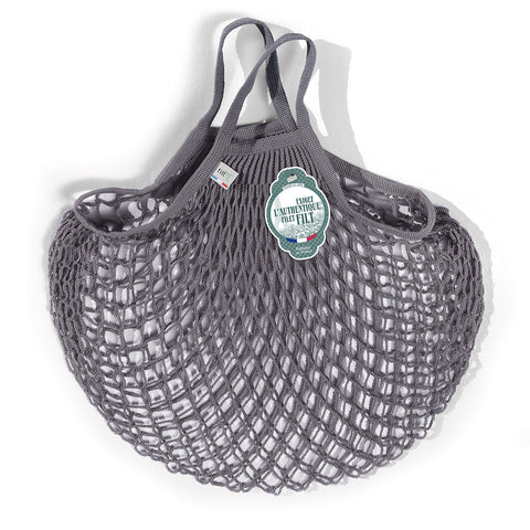 Filt French Net Market Bag - Dark Grey