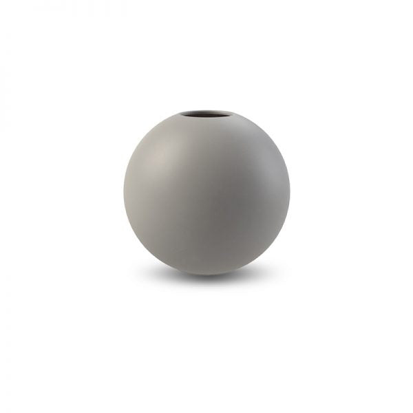Cooee Ball Vase, 10cm - Grey - more stock arriving soon!