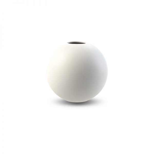 Cooee Ball Vase, 10cm - White - more stock arriving soon!