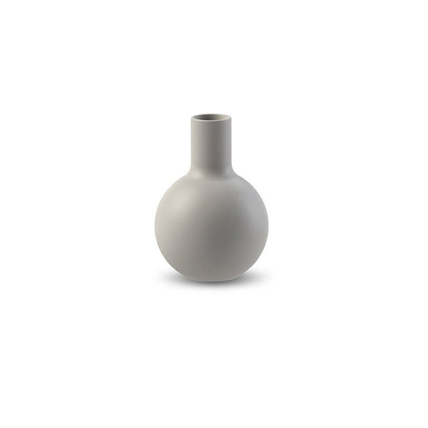 Cooee Collar Vase, 7cm - Light Grey