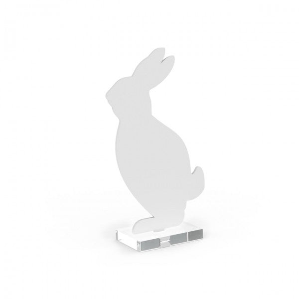 Cooee Hare, 18cm - White