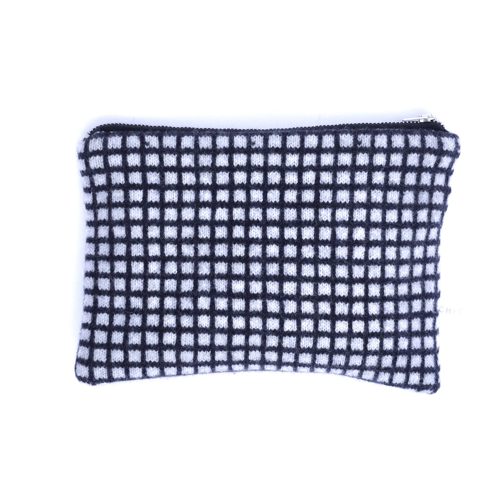 Lambswool Zip Pouch - 3 designs
