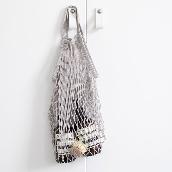 Filt French Net Market Bag - Light Grey