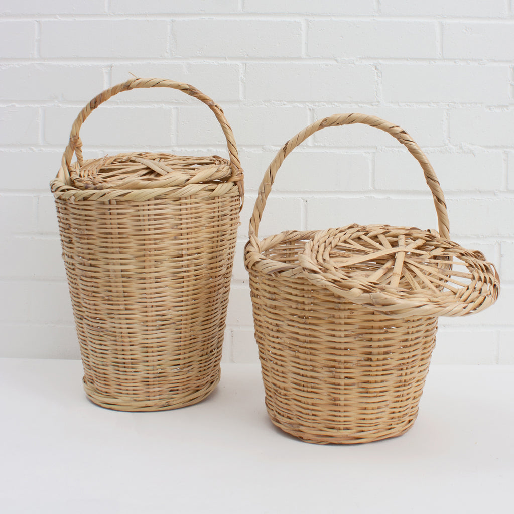 'Moroccan Grape Basket with Lid