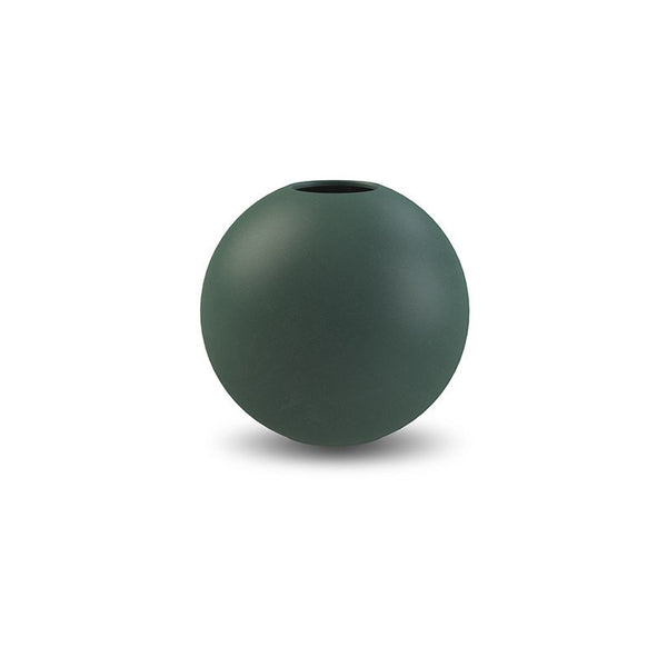 Cooee Ball Vase, 10cm - Dark Green