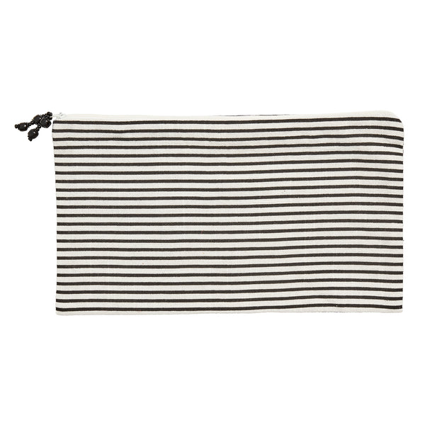 Monochrome Striped Bag