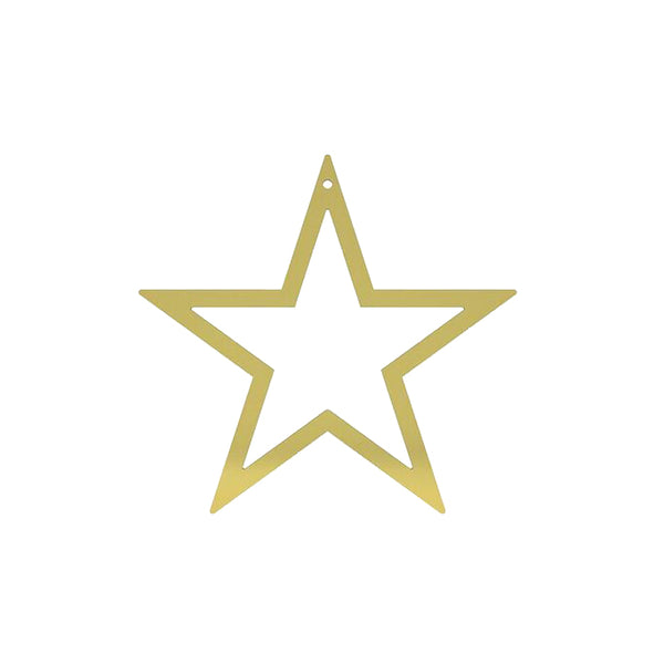 Cooee Brass Star