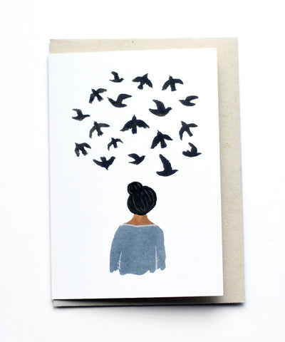 Bird Thoughts Card