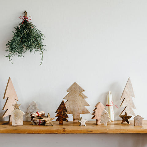Fog Linen Wooden Tree - 2 sizes