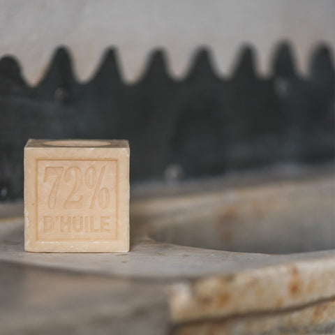 Marseilles Cube Soap - Natural
