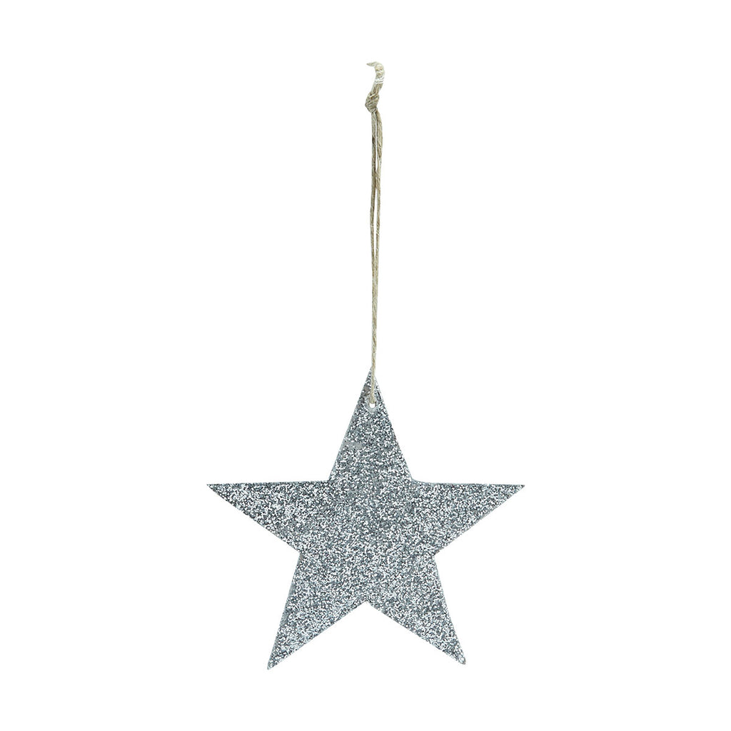 Glitter Star Decoration