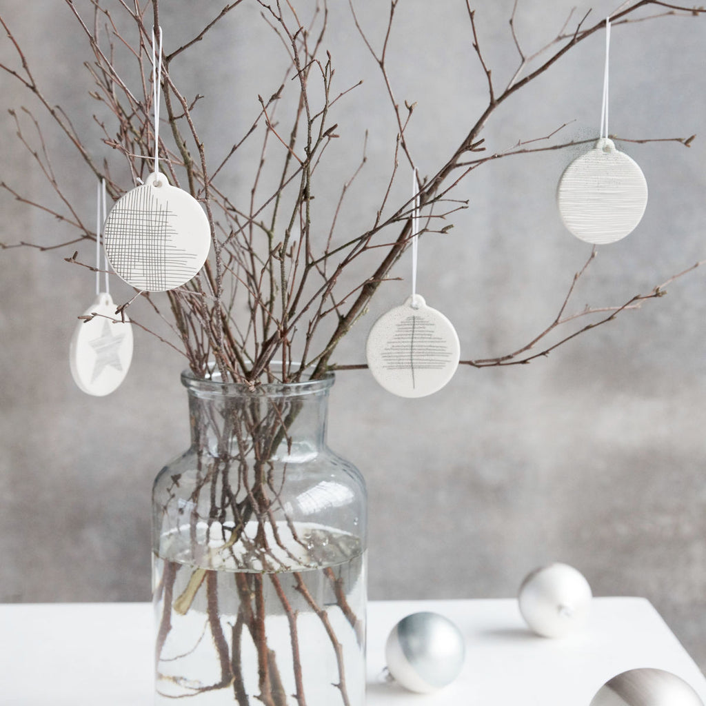 Monochrome Christmas Decoration