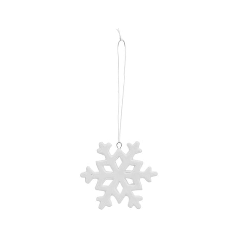 White Snowflake Decoration
