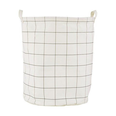Grid Laundry Bag