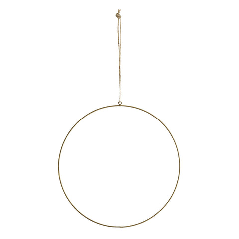 Wire Ring Decoration, Large