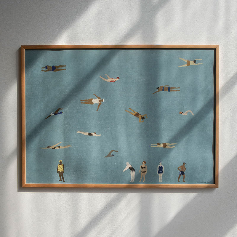 Swimmers Print - Fine Little Day