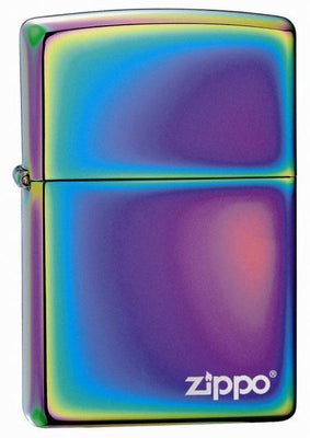 Zippo Lighter - Spectrum with Zippo Logo - Lighter USA