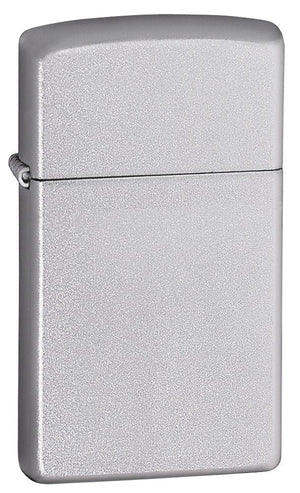 Zippo Lighter - Slim Satin Chrome