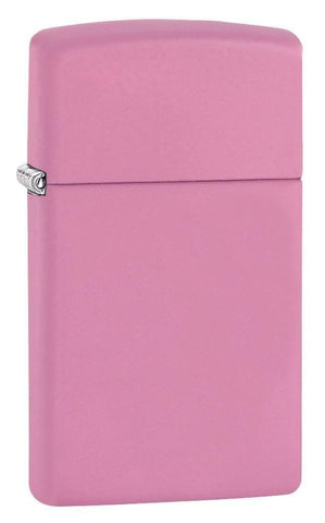 Zippo Lighter - Pink Matte Slim - Lighter USA