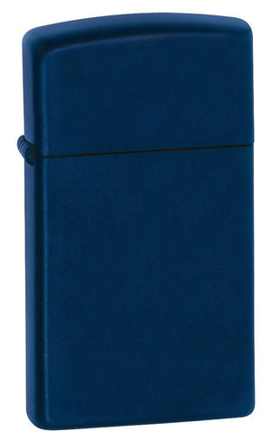 Zippo Lighter - Slim Navy Blue Matte