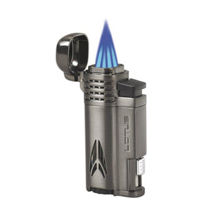 Lotus Lighter Defiant L65 Quad Jet Lighter w/ Cigar Punch - Lighter USA