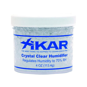 Xikar Crystal Humidifier Jar - Non Filled - Lighter USA