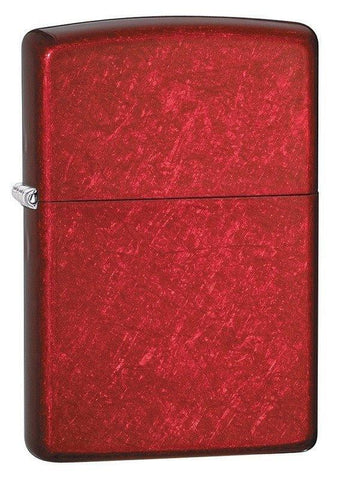 Zippo Lighter - Candy Apple Red - Lighter USA