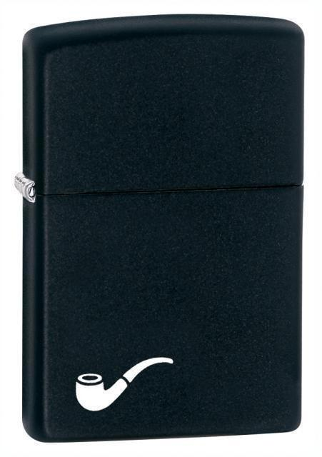 Zippo Lighter - Black Matte Pipe Lighter - Lighter USA