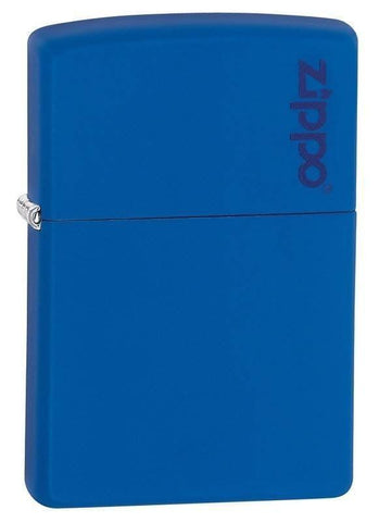 Zippo Lighter - Royal Matte with Zippo Logo - Lighter USA