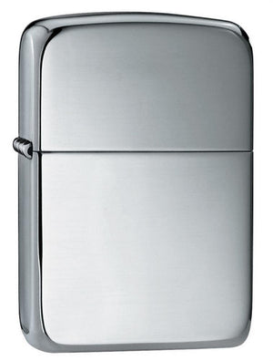 Zippo Lighter - 1941 Replica Hand Satin Sterling Silver