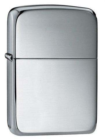 Zippo Lighter - 1941 Replica Hand Satin Sterling Silver - Lighter USA