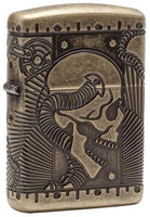 Zippo Lighter - Steampunk Antique Brass Lighter Zippo - Lighter USA