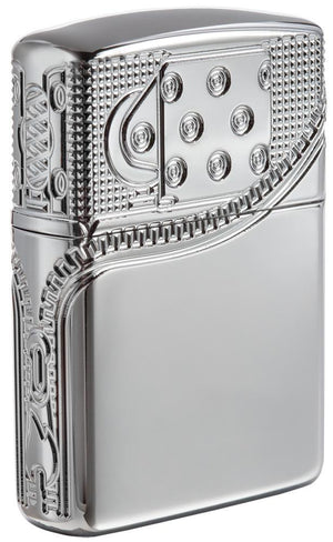 Zippo Lighter - Zipper Armor High Polish Chrome