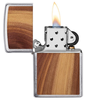 Zippo Lighter - WOODCHUCK USA Cedar - Lighter USA