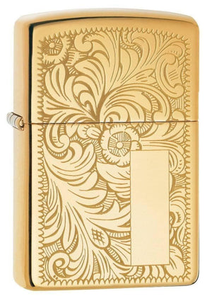 Zippo Lighter - Venetian Brass Finish