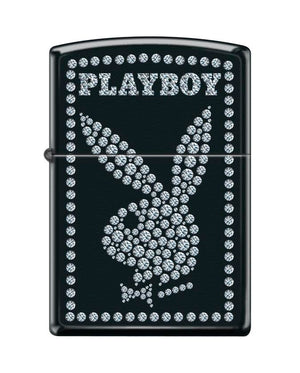 Zippo Lighter - Playboy w/ Crystals