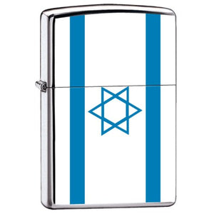 Zippo Lighter - Flag of Israel