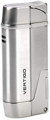 Vertigo Torch Lighter Contender - Silver