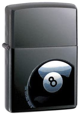 Zippo Lighter - 8 Ball Corner Pocket