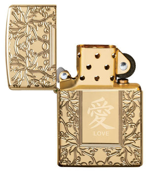 Zippo Lighter - Chinese Love