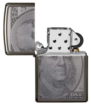 Zippo Lighter - Currency Design